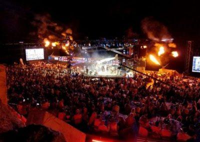 organisation festival concert