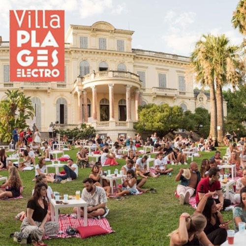Villa plages électro
