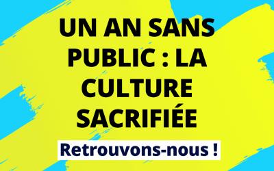 #RebranchonsLaCulture : l'appel des acteurs culturels lancé au gouvernement